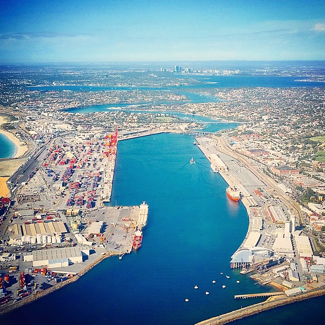 A great view of Perth from Freo Harbour. Isnt it…