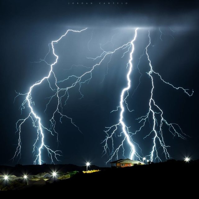 Strobing like there was no tomorrow this storm produced anhellip
