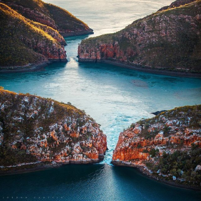 The Horizontal Falls out of Talbot Bay in the Kimberleyhellip