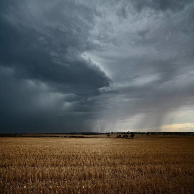 Sometimes nature creates the most gorgeous compositions Lightning accompanying greathellip