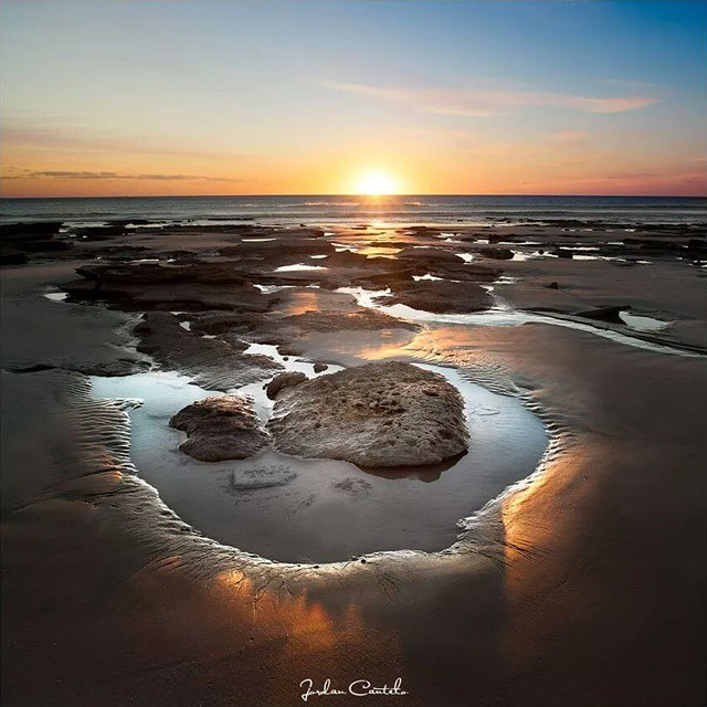 Sunsets over Cable Beach in Western Australia. I cannot recall a bad one ever happening. Glorious rock pools appear when 10m of my water disappear during king low tides. It's a very special place.  I would love to capture the special elements of Dubai and share them to the world! @mydubai #MyDubai #mydubaiaustralia #australia #special  #love #live #forever #star #sand #beach #sunset #travel
