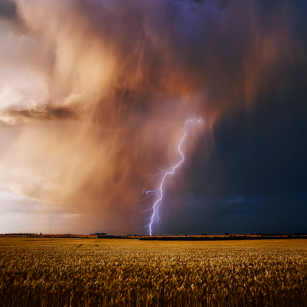 Colourful Storms over Dowerin