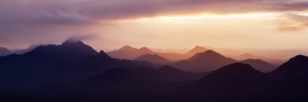 Sunset Colours – Stirling Range National Park