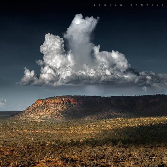 Taken from The Bench on the Gibb River road stormshellip