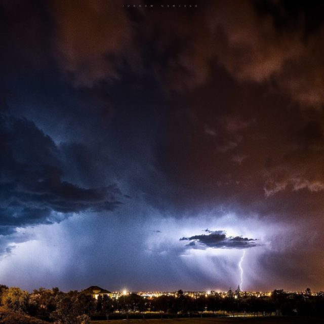 Reminiscing of when storms passed through Perth last summer Thehellip